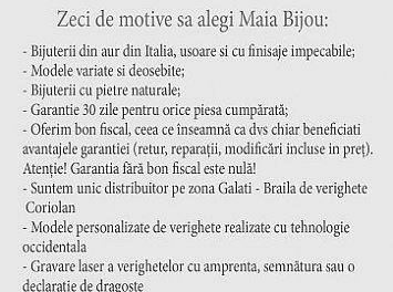 Maia Bijou Nunta Galati
